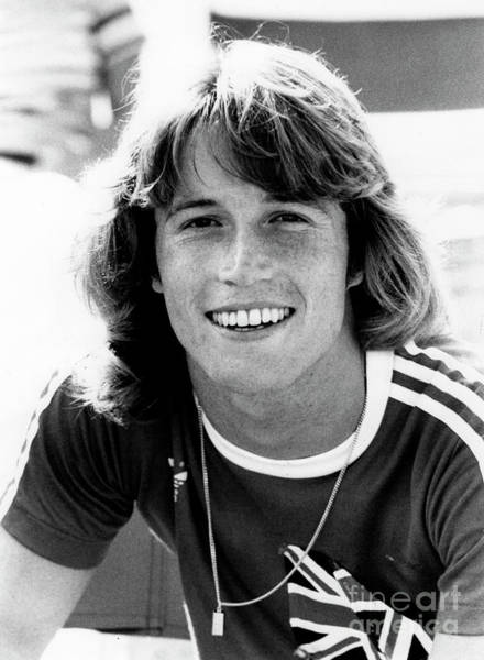 Wall Art - Photograph - Andy Gibb 1977 by Chris Walter