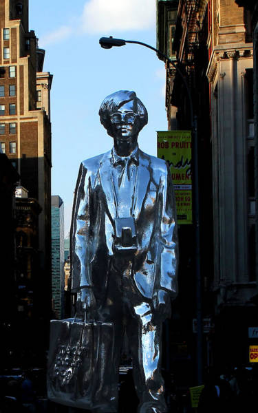 Photograph - Andy Warhol New York by Andrew Fare