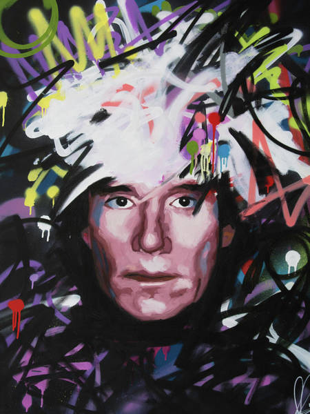 Andy Warhol Painting - Andy Warhol by Richard Day