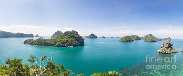 Photograph - Ang Thong Marine National Park by Didier Marti