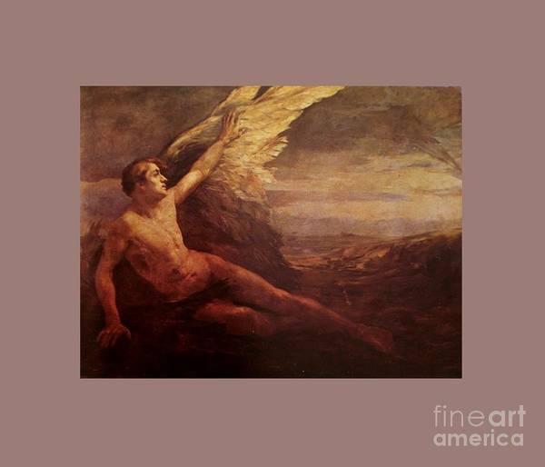 Satanism Digital Art - Angel #2 by Frederick Holiday