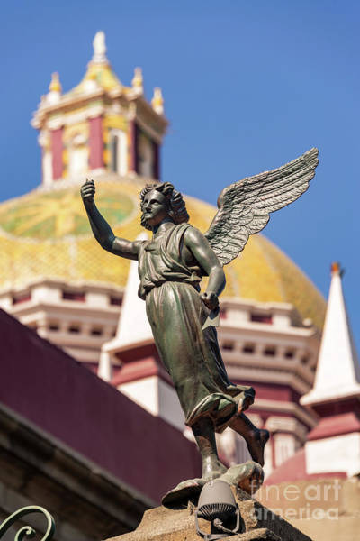 Wall Art - Photograph - Angel And Cathedral by Jess Kraft