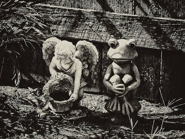 Photograph - Angel And Frog by Bill Cannon