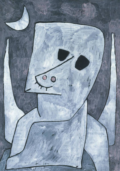 Painting - Angel Applicant By Paul Klee 1939 by Paul Klee