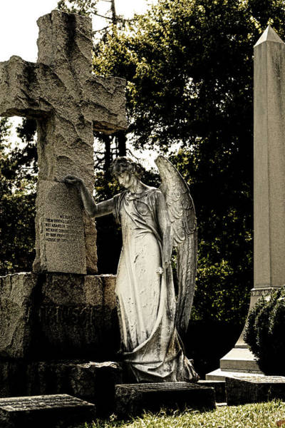 Photograph - Angel At Rest by Sharon Popek