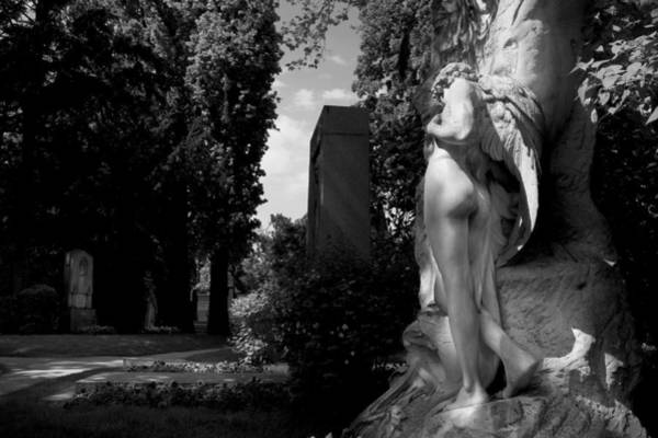 Photograph - Angel At The Grave by Marc Huebner