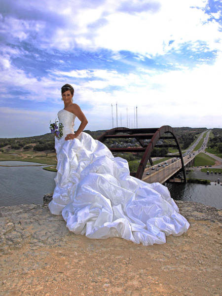 Photograph - Angel Bridal I by James Granberry