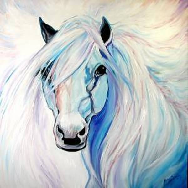 Painting - Angel Equine by Marcia Baldwin