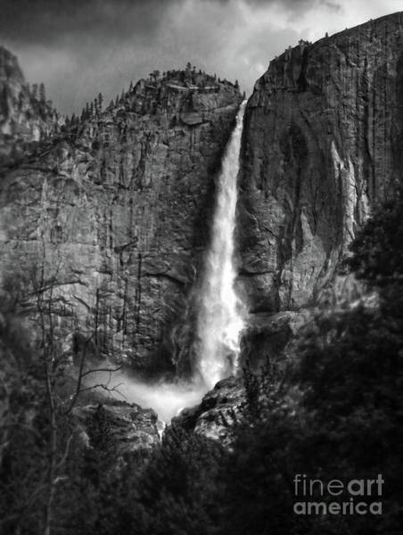 Photograph - Angel Falls Yosemite by Gregory Dyer