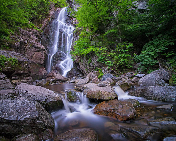 Photograph - Angel Falls Rangeley Me Waterfall by Toby McGuire