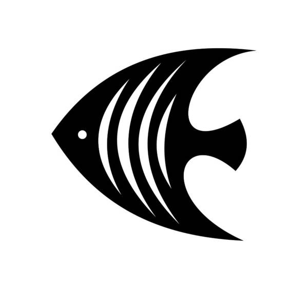 Digital Art - Angel Fish  by Donna Mibus