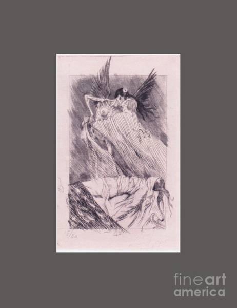 Satanism Digital Art - Angel by Frederick Holiday