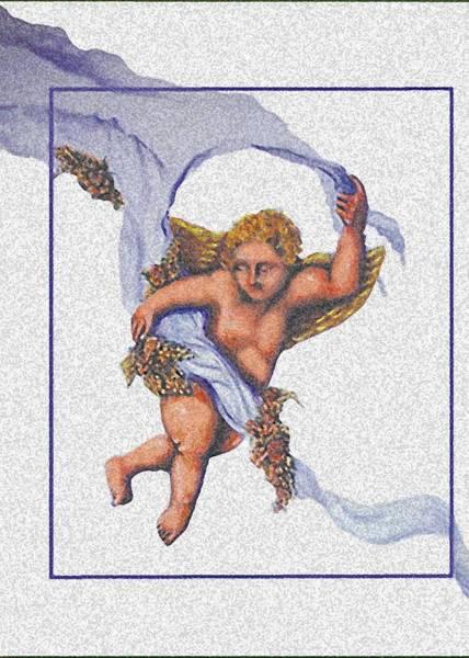 Painting - Angel Fresco by Thomas Lupari
