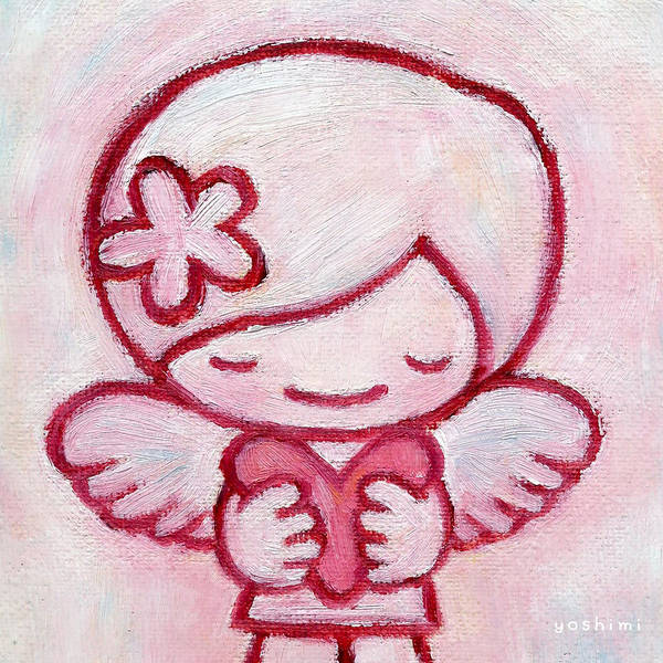Painting - Angel Heart by Yoshimi Hata