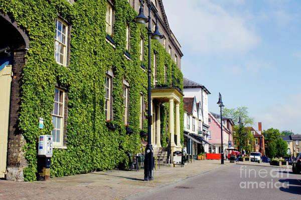 Wall Art - Photograph - Angel Hotel, Bury St Edmunds by Tom Gowanlock