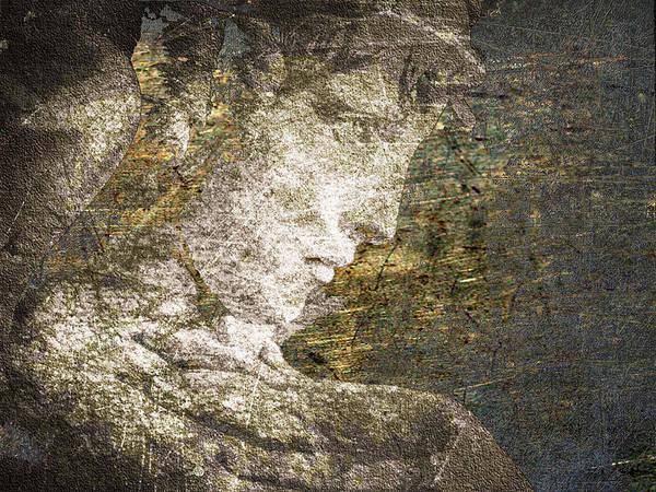Mixed Media - Angel In Bronze And Copper 2 by Tony Rubino