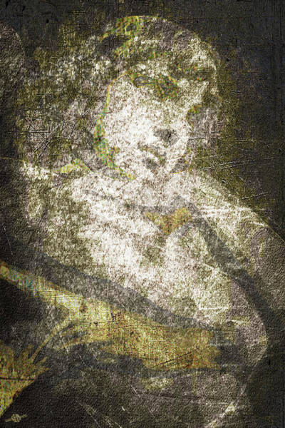 Mixed Media - Angel In Bronze And Copper by Tony Rubino