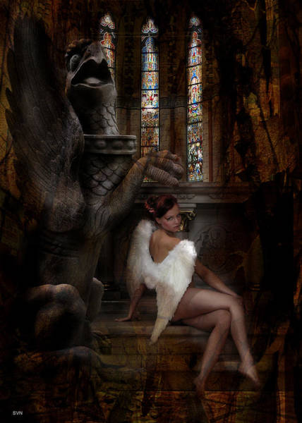 Wall Art - Photograph - Angel In Church 488 by The Hybryds