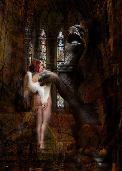 Wall Art - Photograph - Angel In Church 656 by The Hybryds