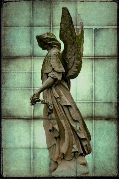 Photograph - Angel In Squares by Alice Gipson