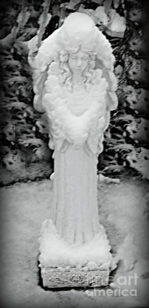 Photograph - Angel In The Snow by Diamante Lavendar