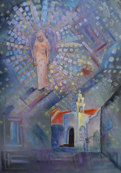 Elwood Blues Painting - Angel by Jann Elwood