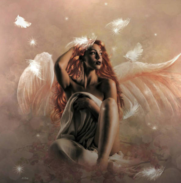 Impression Mixed Media - Angel Kalie 02 by G Berry