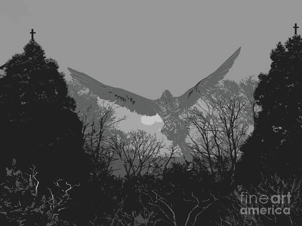 Digital Art - Angel by Lance Sheridan-Peel