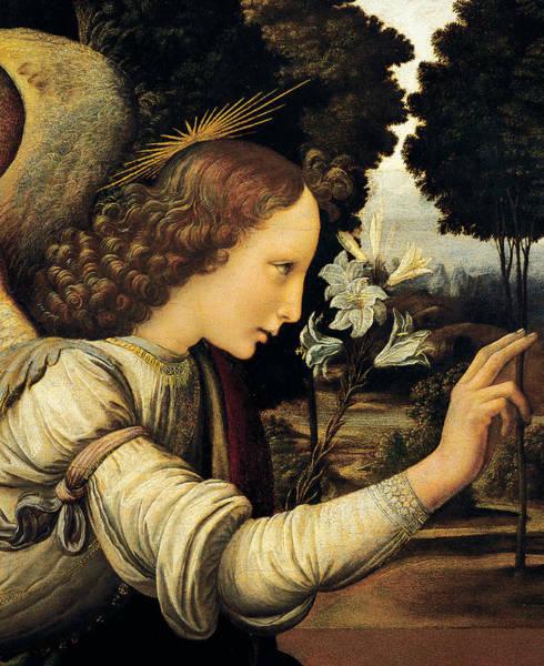 Wall Art - Painting - Angel by Leonardo Da Vinci