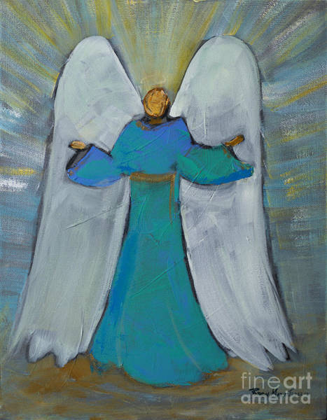 Painting - Angel Of Joy by Robin Maria Pedrero