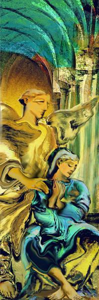 Angel Of Mercy Art Print by Anne Weirich