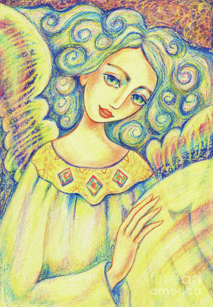 Painting - Angel Of Mercy by Eva Campbell
