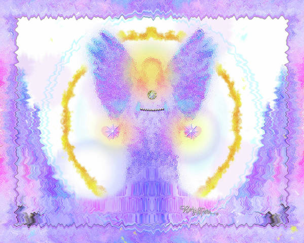 New Thought Digital Art - Angel Of New Direction #180 by Barbara Tristan
