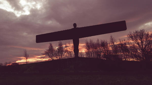 Photograph - Angel Of The North B by Jacek Wojnarowski