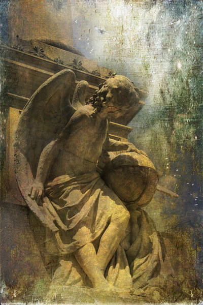 Angel On Watch Art Print