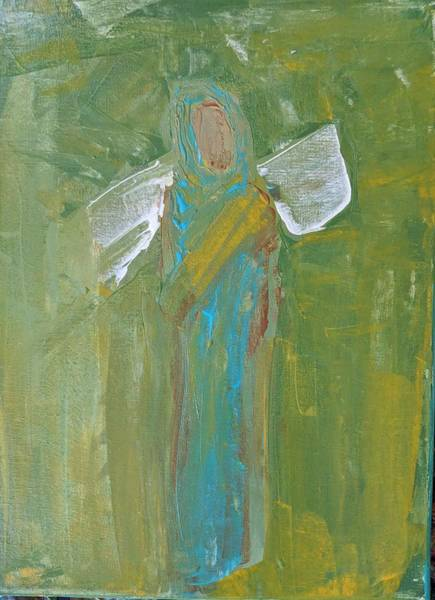 Angel Praise And Worship Art Print