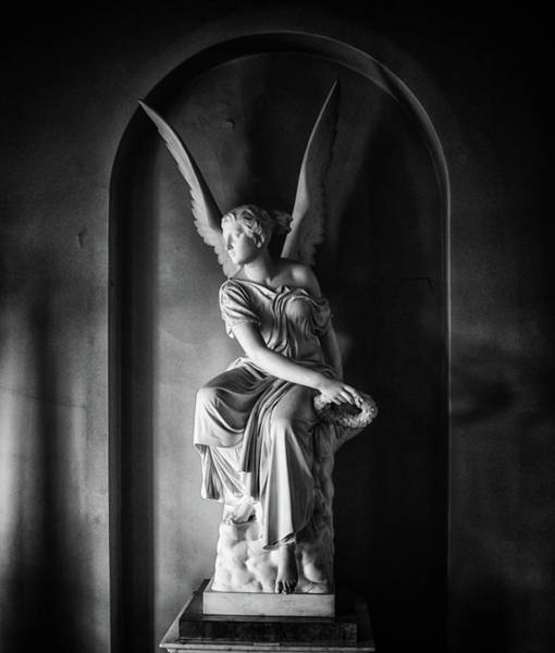Holy Spirit Photograph - Angel Statue by Martin Newman