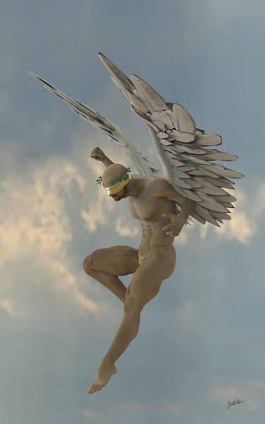 Digital Art - Angel That Watches by Joaquin Abella