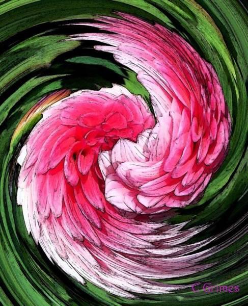 Grime Digital Art - Angel Wings by Carol Grimes