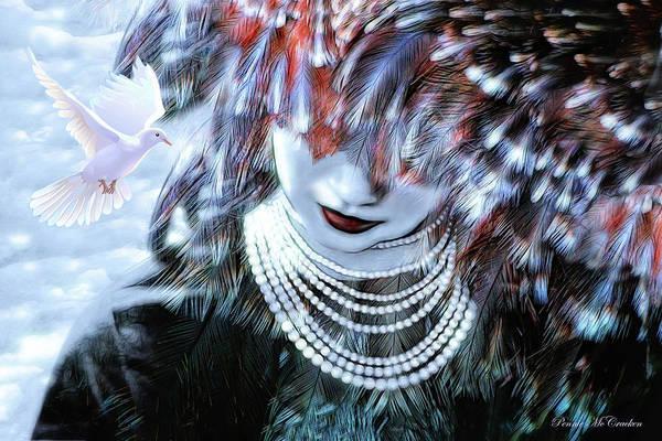 Digital Art - Angelic Embrace by Pennie McCracken