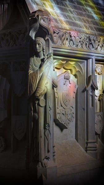 Crypt Photograph - Angelic Escort by Stephen Stookey