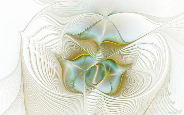 Angelic Digital Art - Angelic Forces by Deborah Benoit