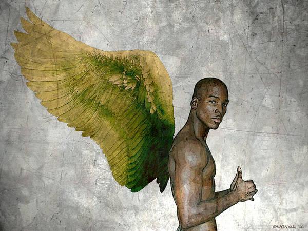 Digital Art - Angelic Manifestation 4 by Walter Neal
