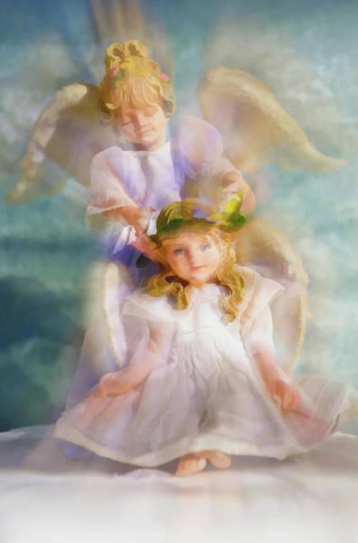 Angelic Digital Art - Angelic by Tom Druin