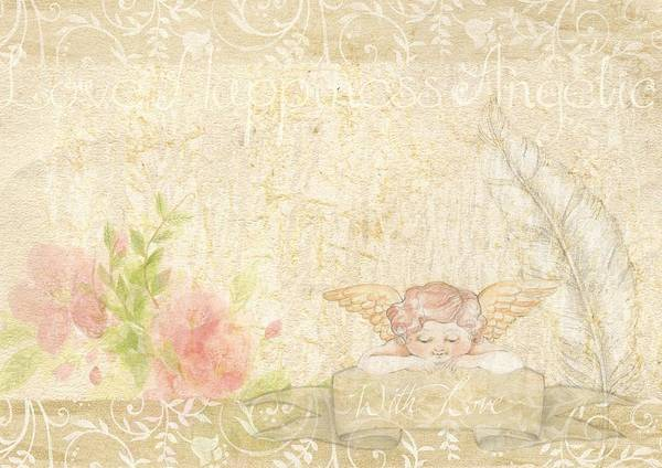 Photograph - Angelique Shabby Chic by Shabby Chic and Vintage Art