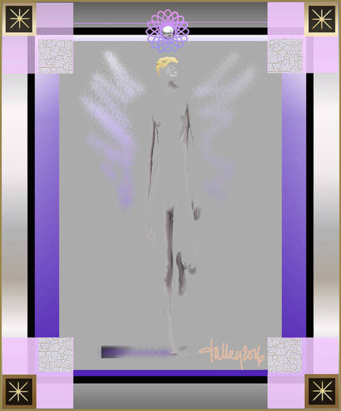 Digital Art - Angels - Archangel Michael by Larry Talley