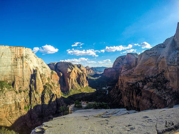 Angels Landing Art Print