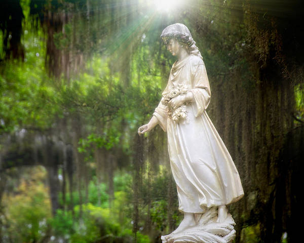 Famous Cemeteries Photograph - Angels Of Bonaventure by Mark Andrew Thomas