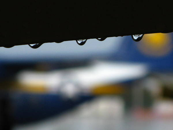 Taxiway Wall Art - Photograph - Angel's Tears by Bill Tomsa