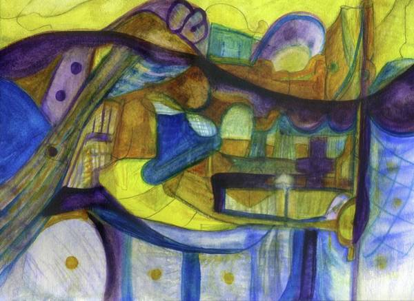 Painting - When Angels Sing by Stephen Lucas